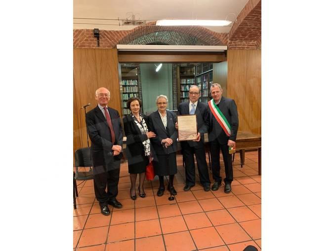 San Benedetto premio comunità ebraica