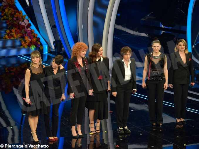 Sanremo2020-Momento Donne presentazione concerto di settembre delle cantanti italiane