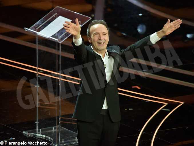 Sanremo2020-Roberto Benigni