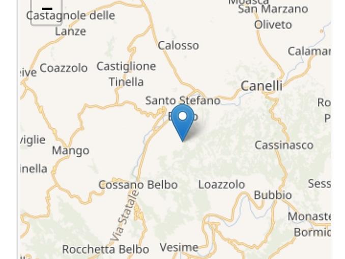 Terremoto Santo Stefano Belbo