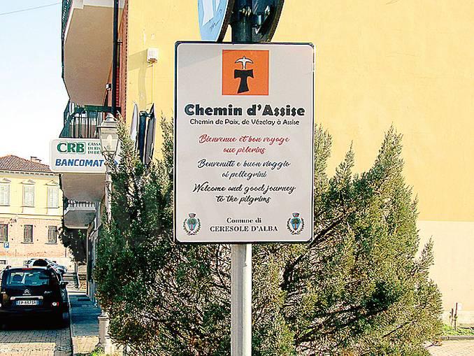 ceresole cammino di Assisi