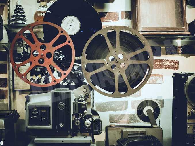 cinema film proiettore