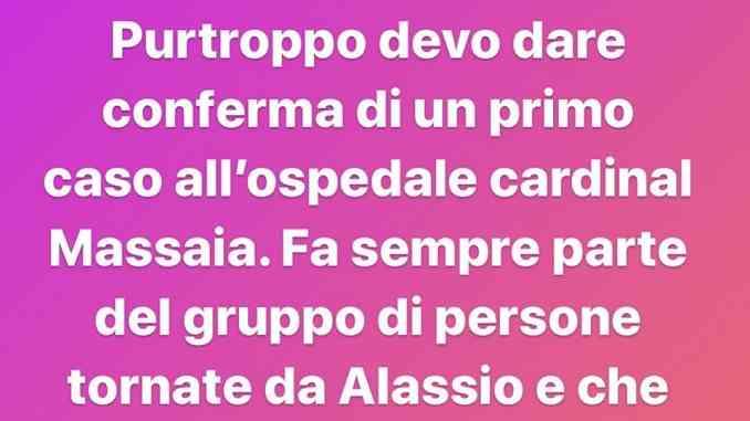 """Coronavirus, il sindaco di Asti conferma: """"Al Cardinal Massaia una persona contagiata"""""""