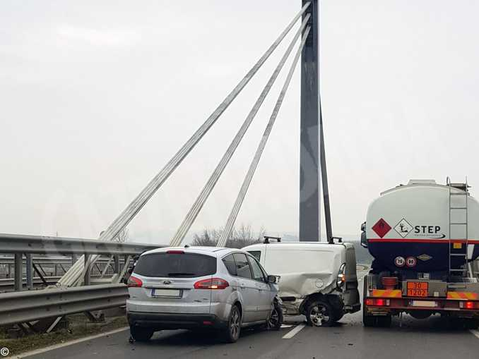 incidente ponte tangenziale alba