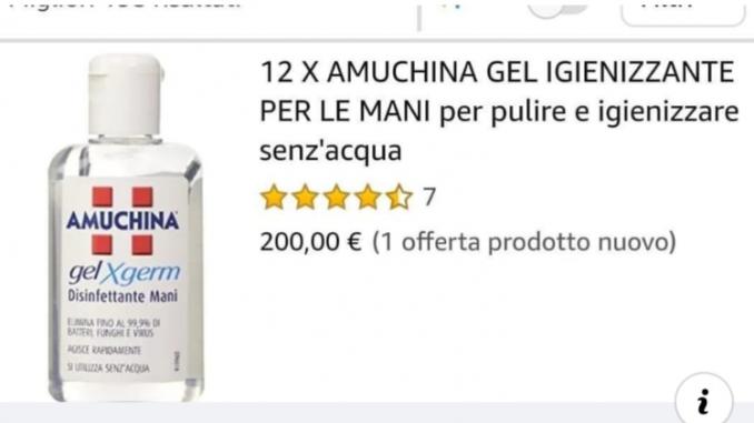 Coronavirus, anche ad Alba gel disinfettanti a ruba. Su Amazon pacco da 12 flaconcini a 200 euro