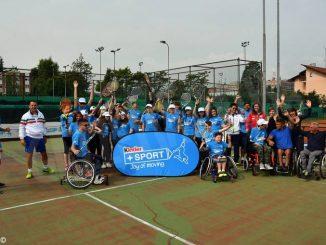 Sabato 15, un torneo Junior di tennis in carrozzina sui campi della Ferrero