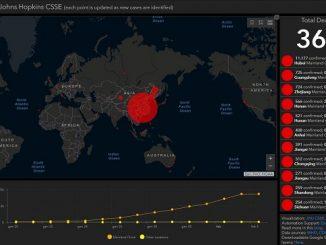 Coronavirus, ecco la mappa interattiva per seguire in tempo reale la diffusione dell'epidemia