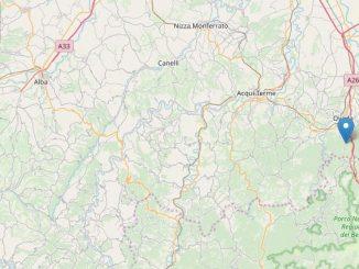 Lieve scossa di terremoto nell'Alessandrino