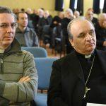 Il vescovo Brunetti si rivolge a Cirio