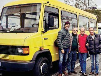 Ambulanza e minibus da Canelli all'Africa