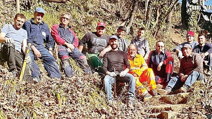 """La """"scala santa"""" di Cossano Belbo è stata ripulita e resa più sicura"""