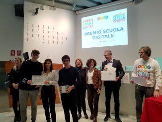 I ragazzi del Giolitti-Gandino al premio Scuola digitale 2020