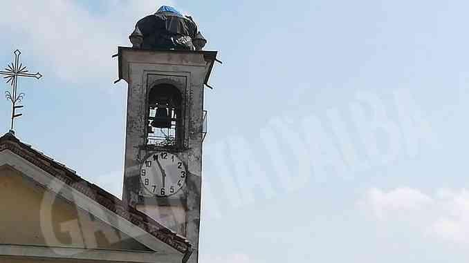 Messo in sicurezza il campanile di Cà del Bosco