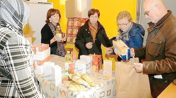Montà: il gruppo Caritas parrocchiale dà aiuto a quaranta famiglie