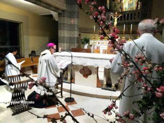 Il messaggio di monsignor Brunetti a giovani e famiglie dal santuario della Moretta 2