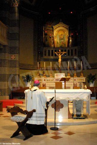 Il messaggio di monsignor Brunetti a giovani e famiglie dal santuario della Moretta 3