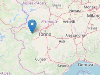 Scossa di terremoto di magnitudo 3.4 nel torinese avvertita anche ad Alba, Bra e nel Roero