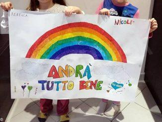 Gli arcobaleni disegnati dai bambini sono nati a Montà 2