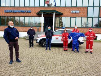 Ascom Bra e ferramenta Maccagno donano indumenti di protezione alla Croce rossa