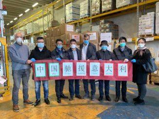 Coronavirus in Piemonte, l'assessore Icardi incontra e ringrazia il Console cinese 1