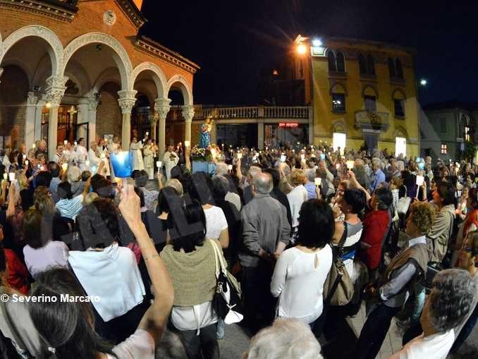 Preghiera alla Vergine Maria dal santuario della Moretta