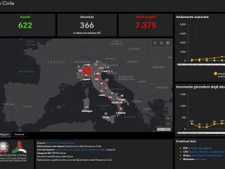 Coronavirus: la mappa ufficiale per monitorare l'evolversi della situazione in Italia
