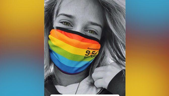 Da 958 Santero: ecco le mascherine che proteggono e fanno solidarietà