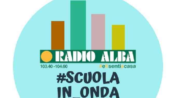 La didattica viaggia sulle frequenze di Radio Alba