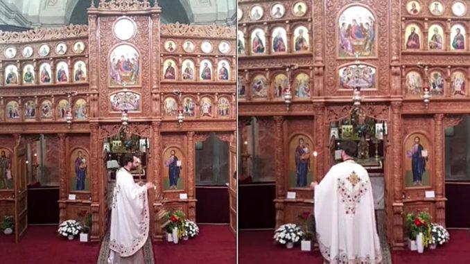 Oggi la Pasqua degli ortodossi, anche la Parrocchia di Bra ha celebrato la messa a porte chiuse