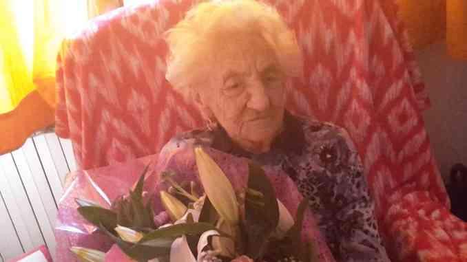 Erminia Bianchini compie 112 anni, è la nonna d'Italia