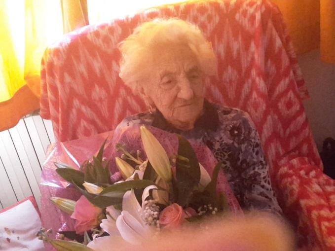 Erminia Bianchini 112 anni
