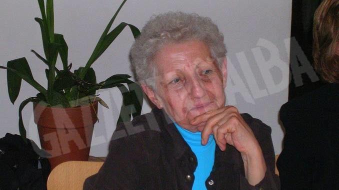 Si è spenta Ernestina Piazzo, nota ad Alba per aver a lavorato a lungo nel negozio Tartufi Ponzio