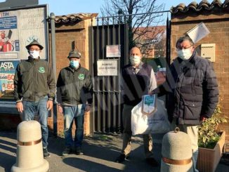 Il gruppo degli Alpini dona 500 mascherine 1