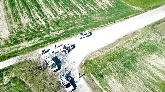 Bra: controlli dall'alto con i droni dell'Associazione Carabinieri