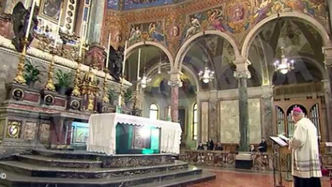Il Rosario per l'Italia, questa sera alle 21 in Tv e in streaming da Pompei
