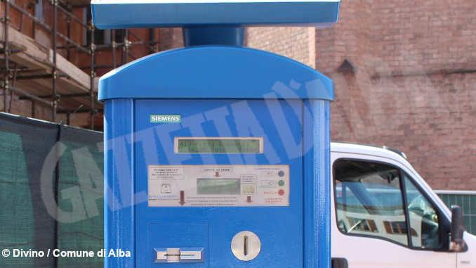 Dal 4 maggio i parcheggi blu di Alba tornano a pagamento