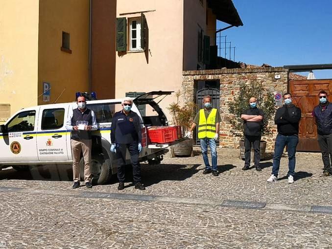 I ristoranti di Castiglione Falletto hanno donato tajarin tricolori alle famiglie 1