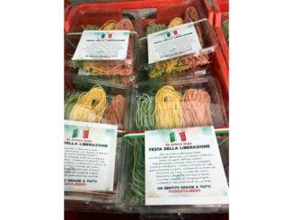I ristoranti di Castiglione Falletto hanno donato tajarin tricolori alle famiglie
