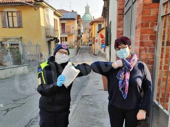 Altre 60mila mascherine consegnate dalla Protezione civile alle strutture assistenziali del Piemonte