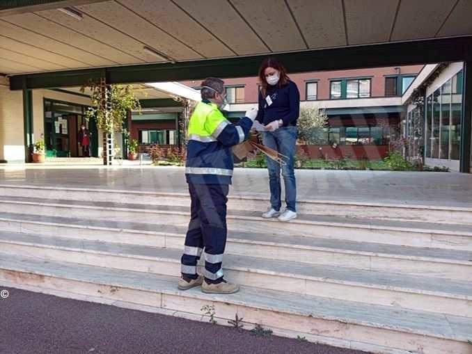 Altre 60mila mascherine consegnate dalla Protezione civile alle strutture assistenziali del Piemonte 2