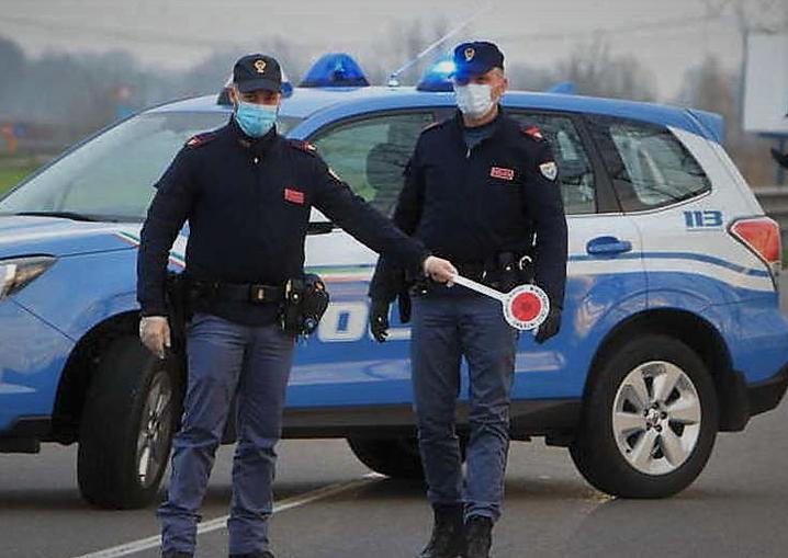 polizia stradale_coronavirus