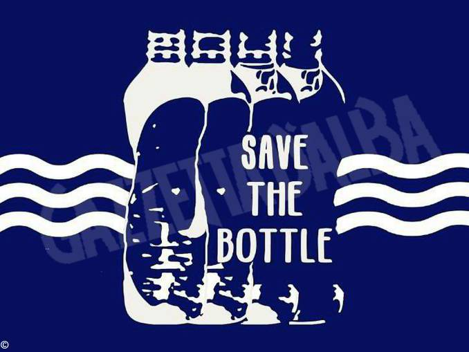save the bottle
