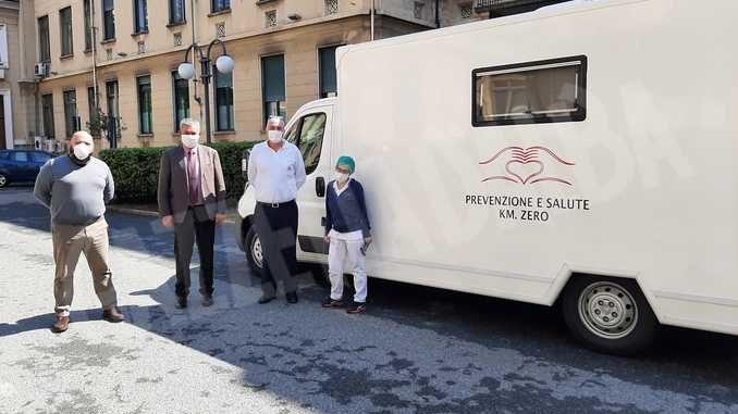 In Piemonte è operativa una seconda unità mobile per i tamponi