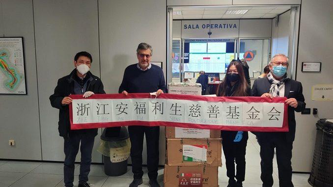 Coronavirus Piemonte, dieci nuovi ventilatori polmonari dalla comunità cinese