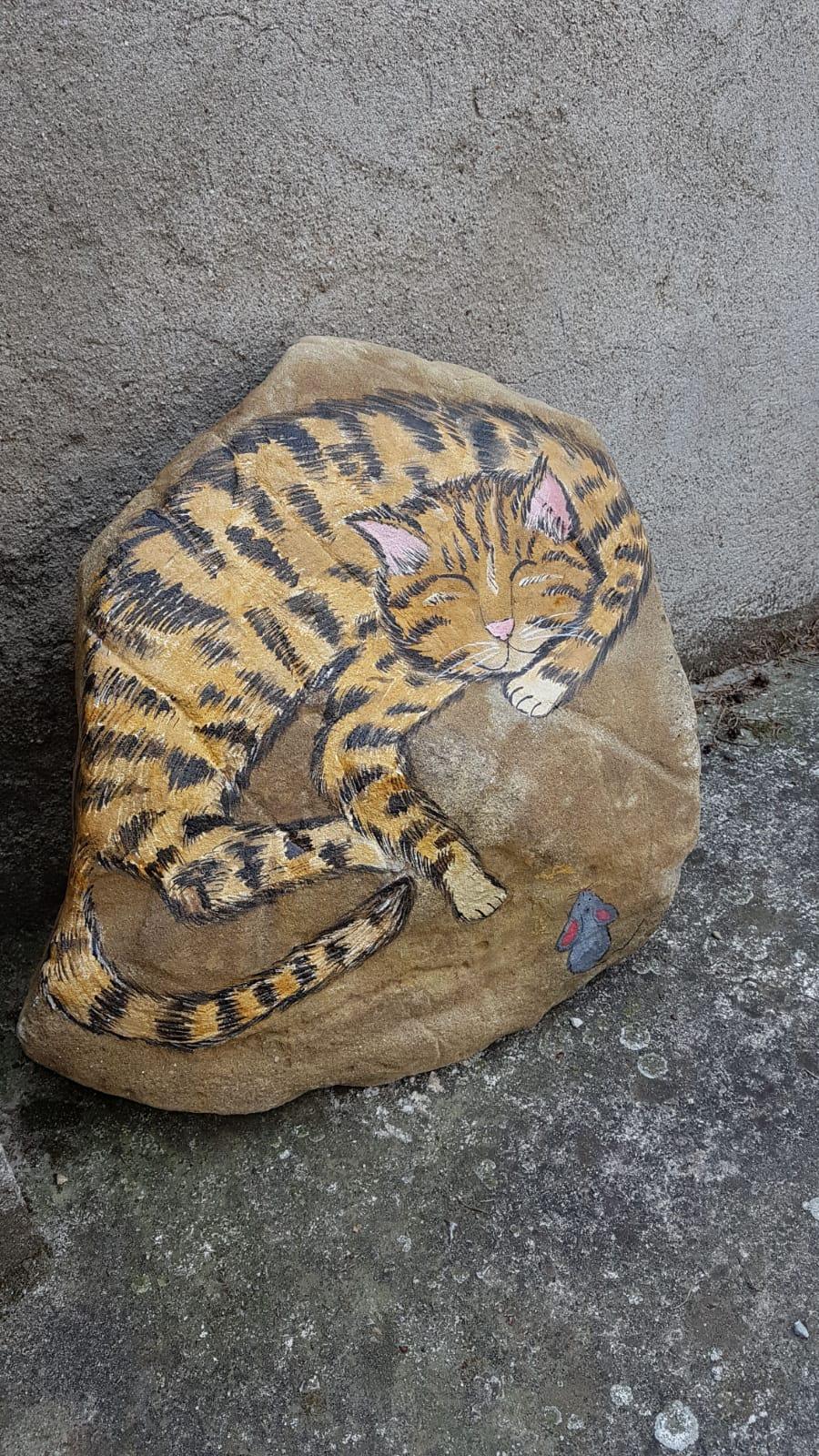 Belvedere pietra dipinta 1