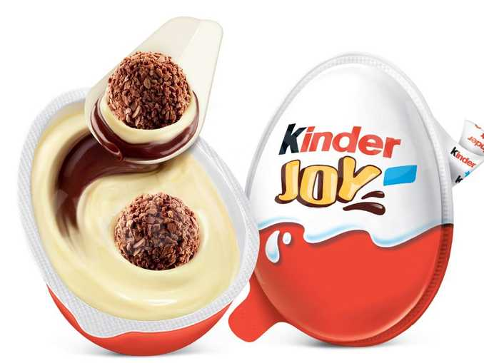 Ferrero Kinder Joy nuovo cucchiaio