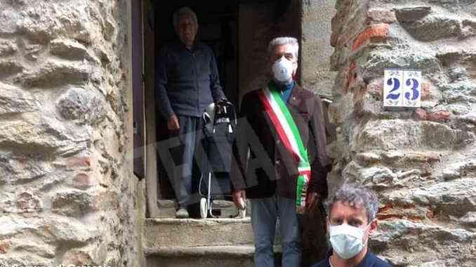 102 anni per Renato Quaglia, maresciallo dei carabinieri che vive a Garessio 2