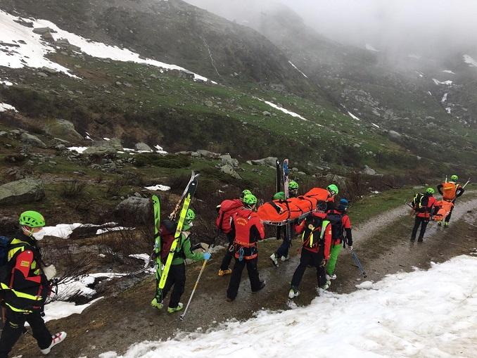 Soccorso Alpino e Speleologico Piemontese – Ceresole Reale