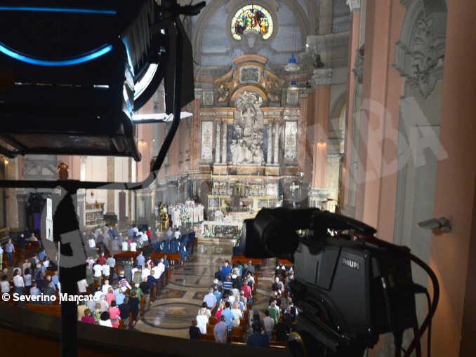 alba tempio san paolo messa tv 2017