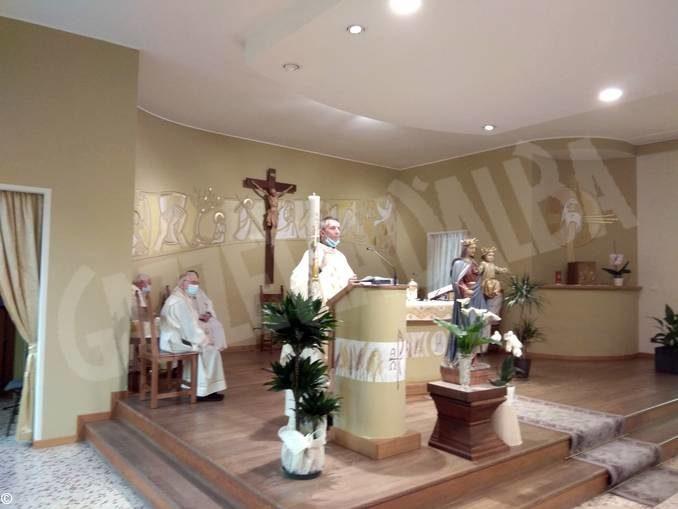 La prima Messa nella chiesa dell'Istituto salesiano di Bra